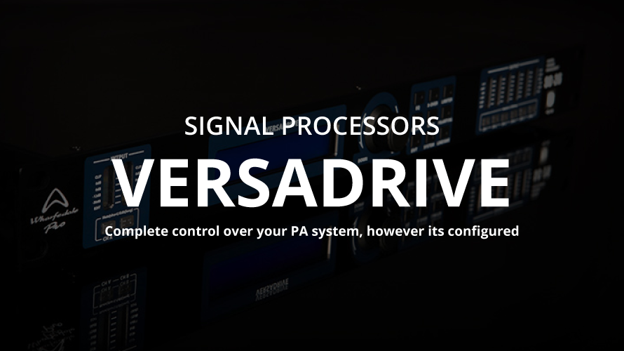 whafedale-pro Versa Drive Series vol.2  【ネットワーク接続】