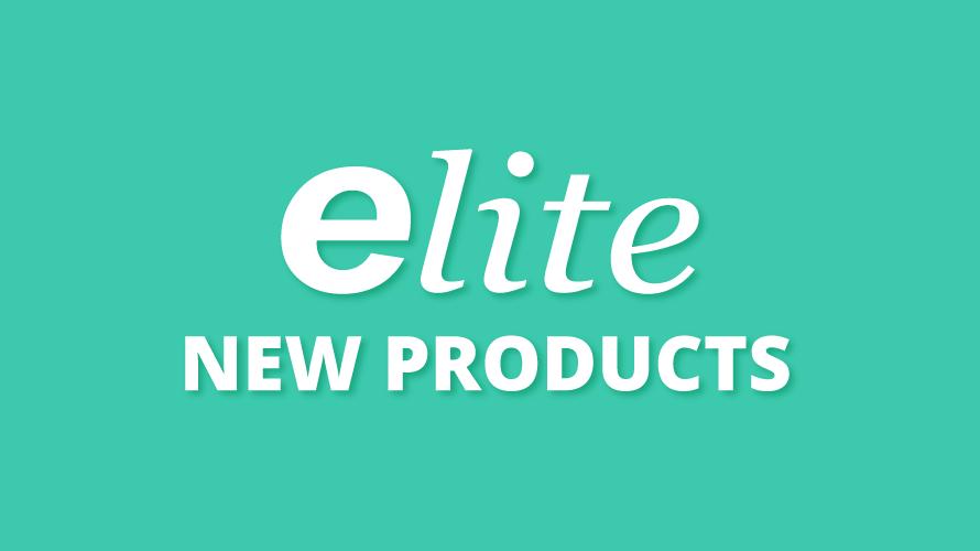 【elite】定番商品より新製品登場です!