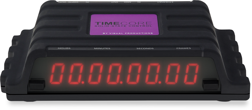 【Visual Productions】TIMECODEツールボックス 「TIMECORE」 !!!!