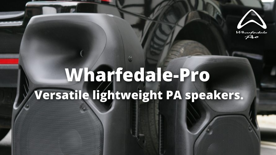 Wharfedale-pro マルチポータブルスピーカーTitanシリーズ  Vol.1