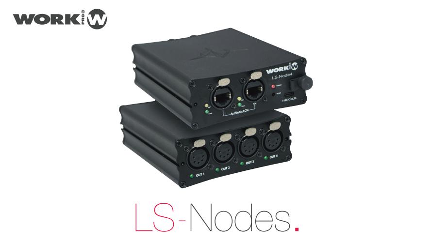 【WORK PRO】LS-NODE 4の使用方法に関して【LS-NODE】