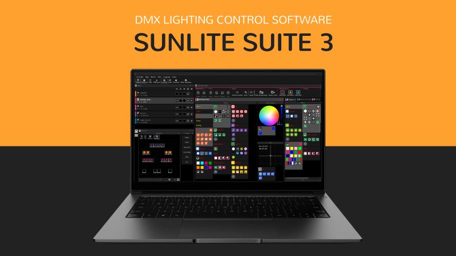 【Sunlite Suite3】RGBフィクスチャーでRAINBOWエフェクトを使ってみよう その2