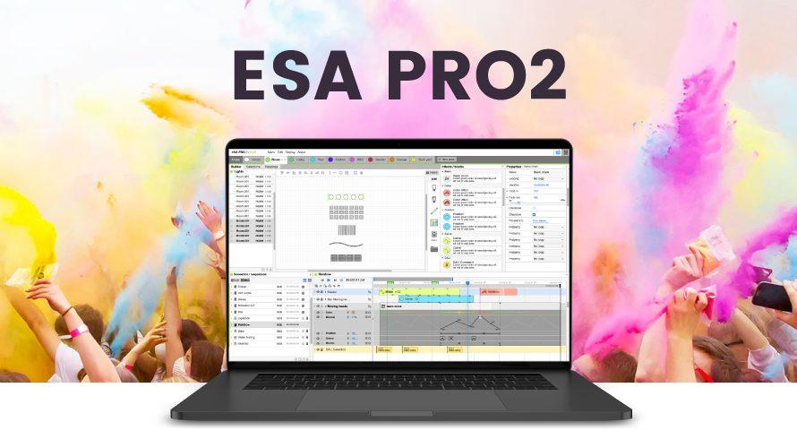 【ESA PRO2チュートリアル】 テープライトをパッチしてみよう|ESA PRO2 機材塾のご紹介