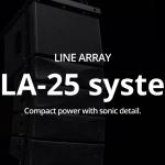 wharfadale-pro ラインアレイシステム WLA25 Seriesについて Vol.1 WLA25のご紹介