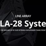 【Wharfadale-pro 】ラインアレイシステム WLA-28 Seriesについて Vol.1