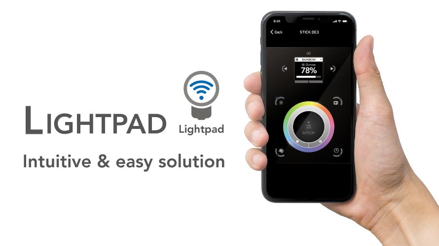 【NICOLAUDIE】リモートアプリLightpadのご紹介