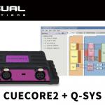 【Visual Productions】CUECORE2をQ-SYS内で制御できるQ-SYS用のプラグインを発表