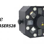 【elite】LED・レーザー・ストロボ搭載のマルチエフェクトライト 【MIX LASER528】のご紹介!