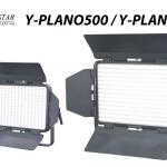 様々な撮影会や配信で使えるプロフェッショナル仕様のLEDフラットライト SILVER STAR 【Y-PLANO500/1000】