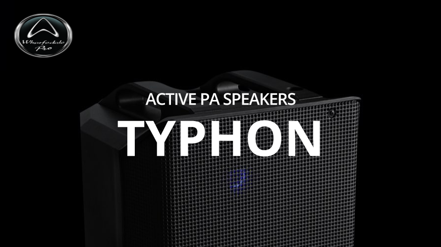 wharfedale-pro typhon-AX12 tyhon-AX12BTのご紹介