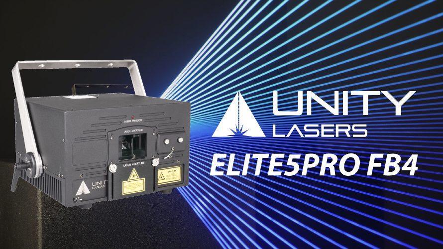 【UNITY LASERS】ELITE5PRO FB4のご紹介とセール情報!!