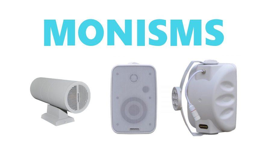 【MONISMS】Danteでスマートに!!設備向けスピーカー!!
