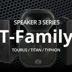 【Wharfedale Pro】 スピーカー T-Familyのご紹介!