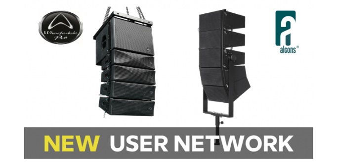 Wharfedale Pro / Alcons Audioのユーザーネットワークページを追加更新しました!