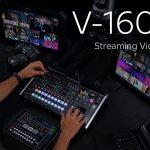 【Roland】ストリーミングビデオスイッチャー V-160HDのご紹介